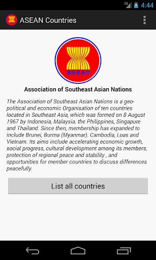 Asean Countries asean country