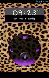Complete Cheetah Purple Theme screenshot 6