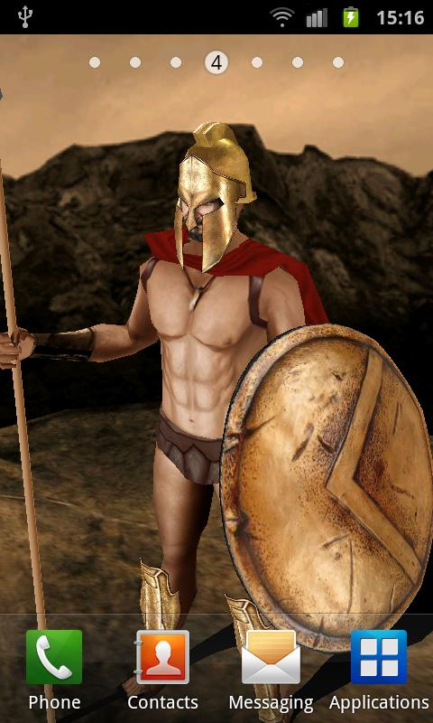 King Leonidas 3D LWP - screenshot