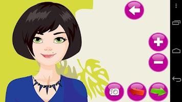 Screenshot of Dress Up Coco Fashion