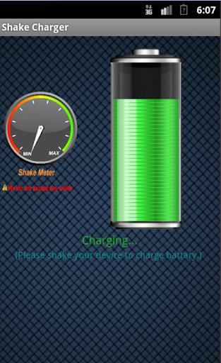 【免費工具App】Shake Charger (Phony)-APP點子