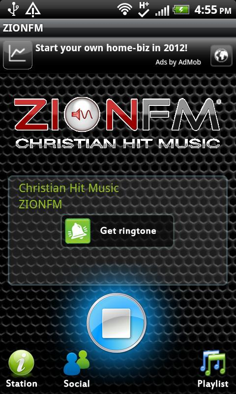 ZIONFM - screenshot