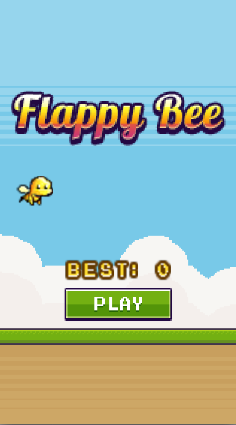 Flappy Bee - Endless Bird Run - screenshot