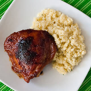 Honey and Soy Baked Chicken Thighs.