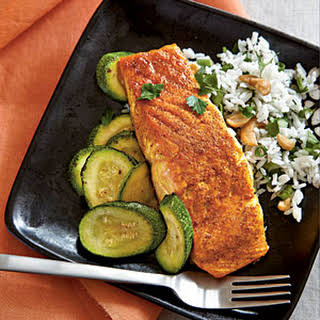 Indian-Spiced Salmon.