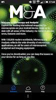 Screenshot of Microscopy & Analysis