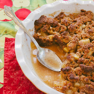Grain-Free Apple & Pear Crisp