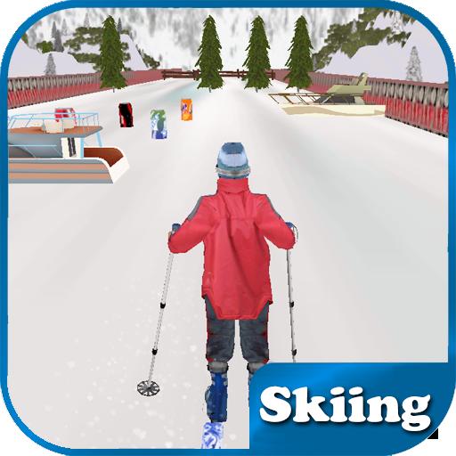 Skiing LOGO-APP點子