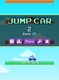 Jump Car- screenshot thumbnail