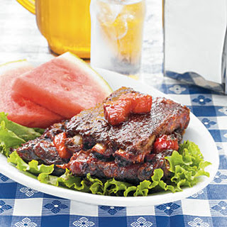 George Harvell's Watermelon Ribs from Loveless Cafe and Motel.