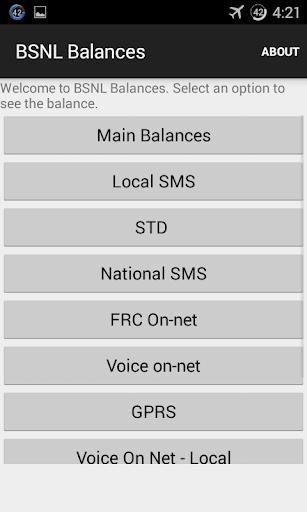 BSNL Balances