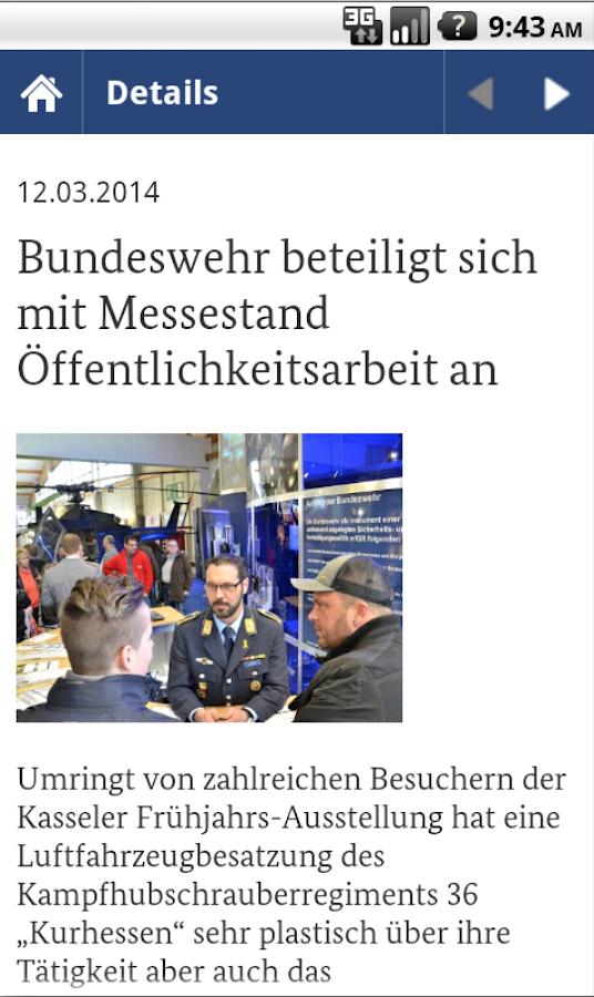 Bundeswehr - screenshot