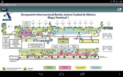 Mexico City Airport MEX Radar Flight Tracker Android Apps On - Airports in mexico