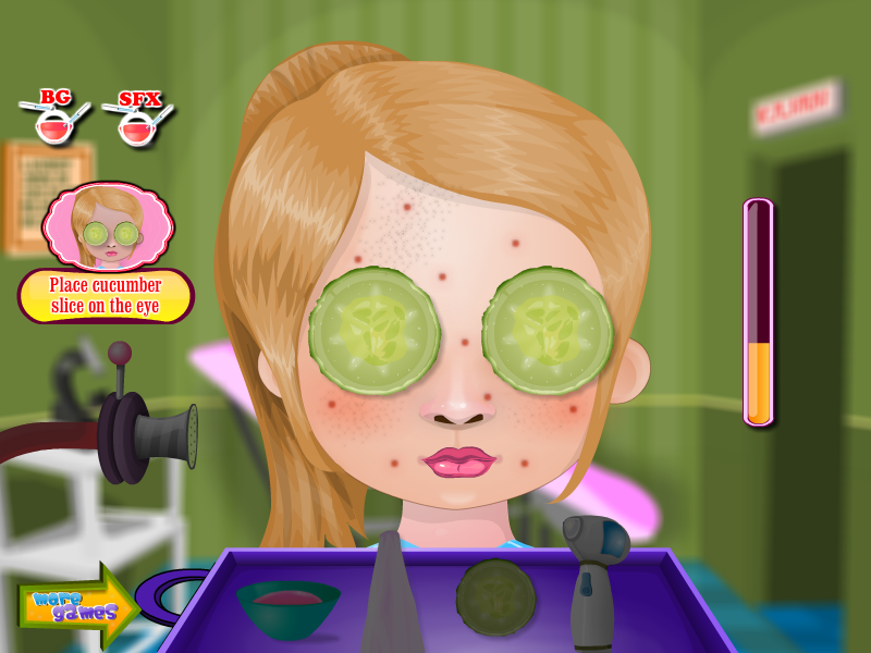 Pimple Trouble Girls Games - screenshot