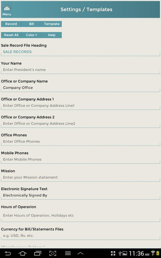 Customer Events & Records CRM- screenshot
