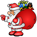 Happy Santa icon