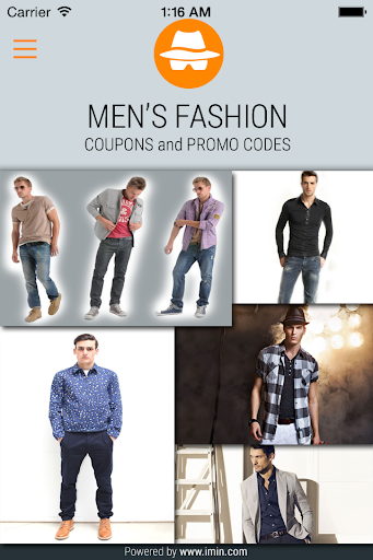 Mens Fashion Coupons - I'm In