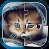 Niedlichen Katzen Puzzle-Spiel