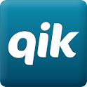 Qik Video for Atrix logo
