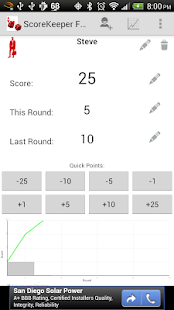 Score Keeper Free - screenshot thumbnail