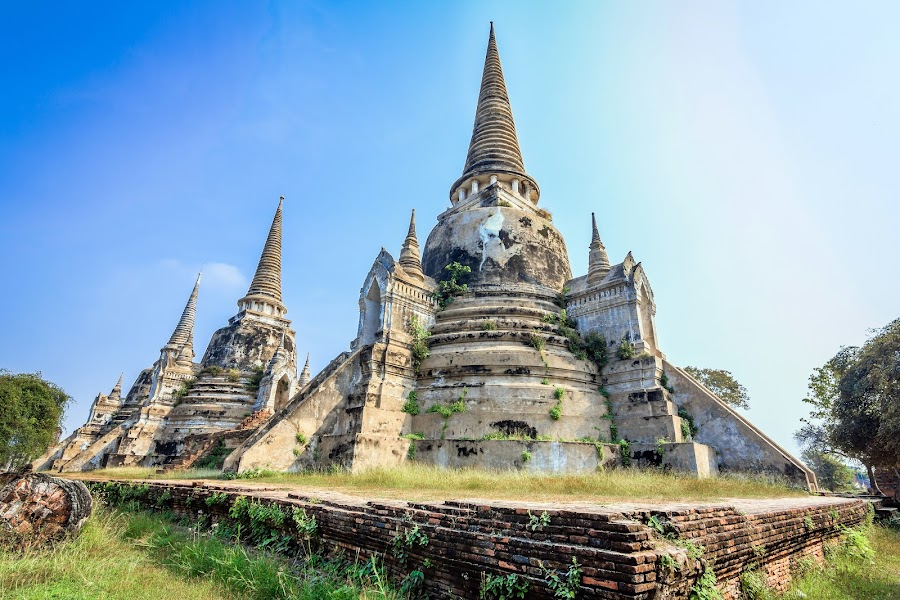 Ayutthaya Kingdom by YingTong Low - Buildings & Architecture Public & Historical ( hdr, kingdom, thailand, ayutthaya, architecture, historical, heritage, unesco,  )