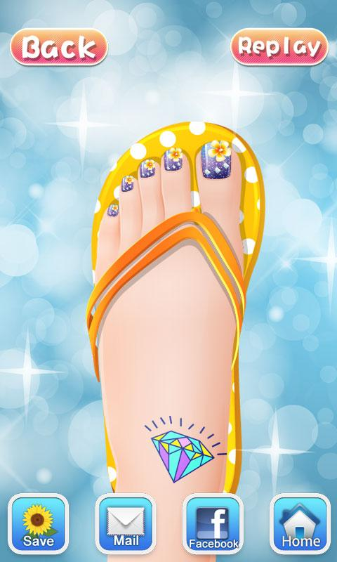 Art nail salon girls games android apps on google play art nail salon girls games screenshot prinsesfo Gallery