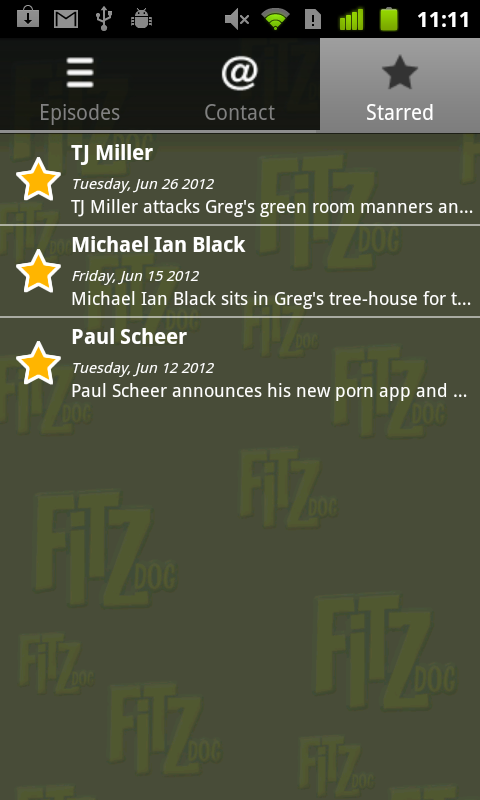 Fitzdog Radio- screenshot