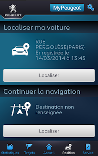 Link MyPeugeot- screenshot thumbnail