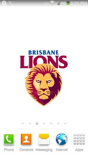 Brisbane Lions Spinning Logo- screenshot thumbnail