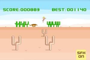 Screenshot of Desert Run