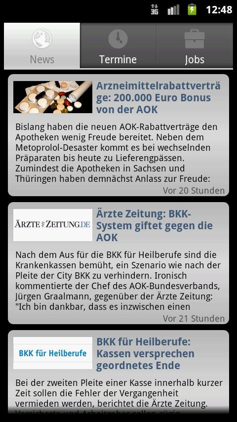 GKV-Netzwerk - screenshot