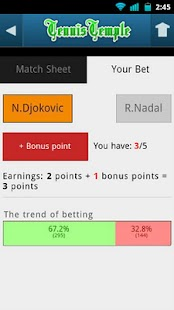 Tennis Live scores- screenshot thumbnail