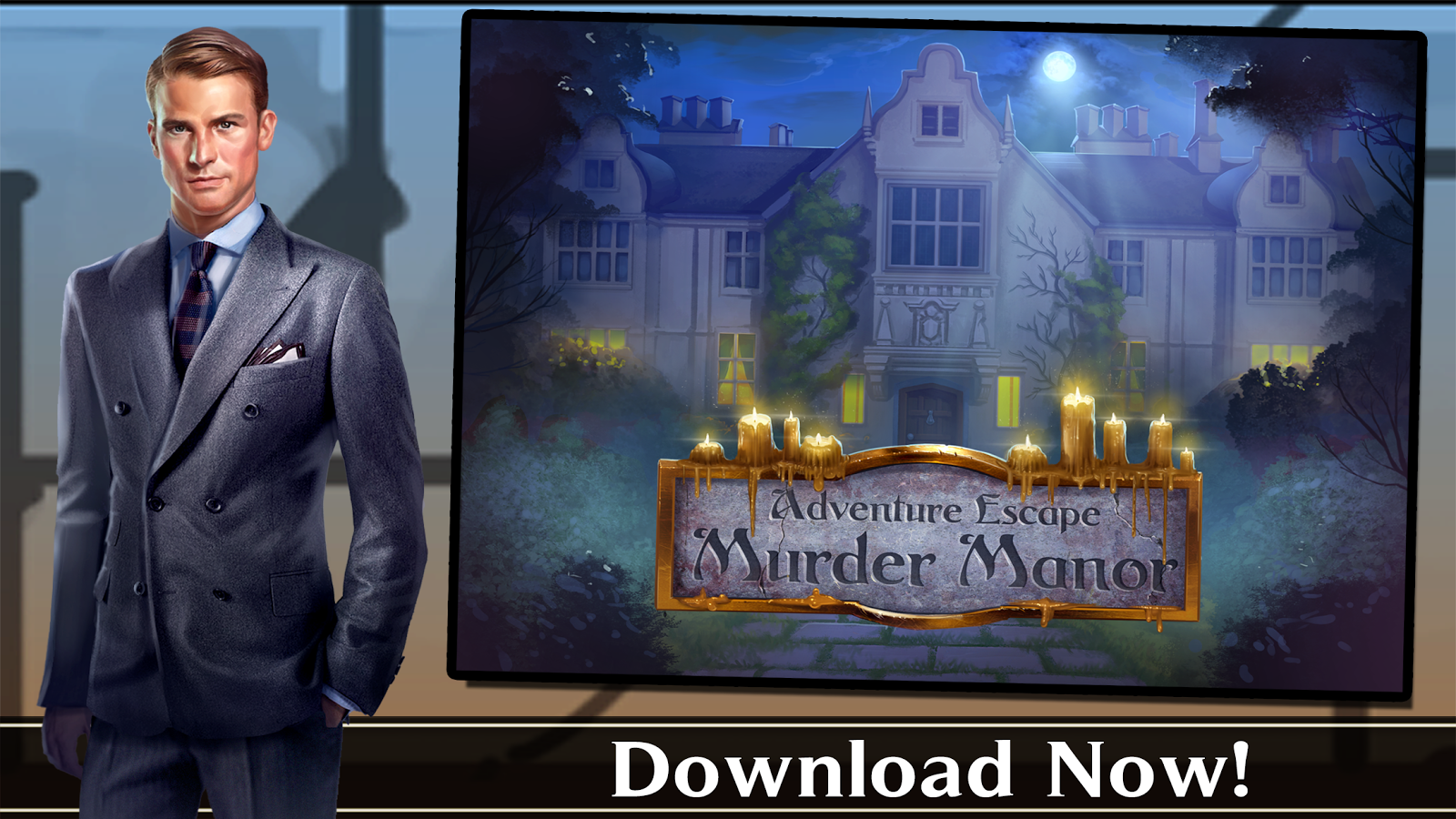 Adventure Escape: Murder Manor- screenshot