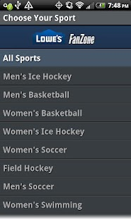 Boston University Sports - screenshot thumbnail