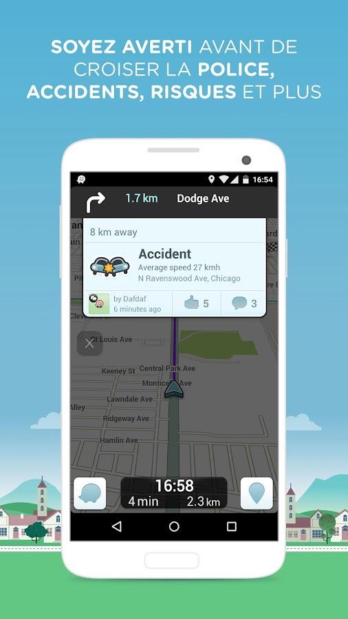 Waze Social GPS Maps & Traffic - screenshot