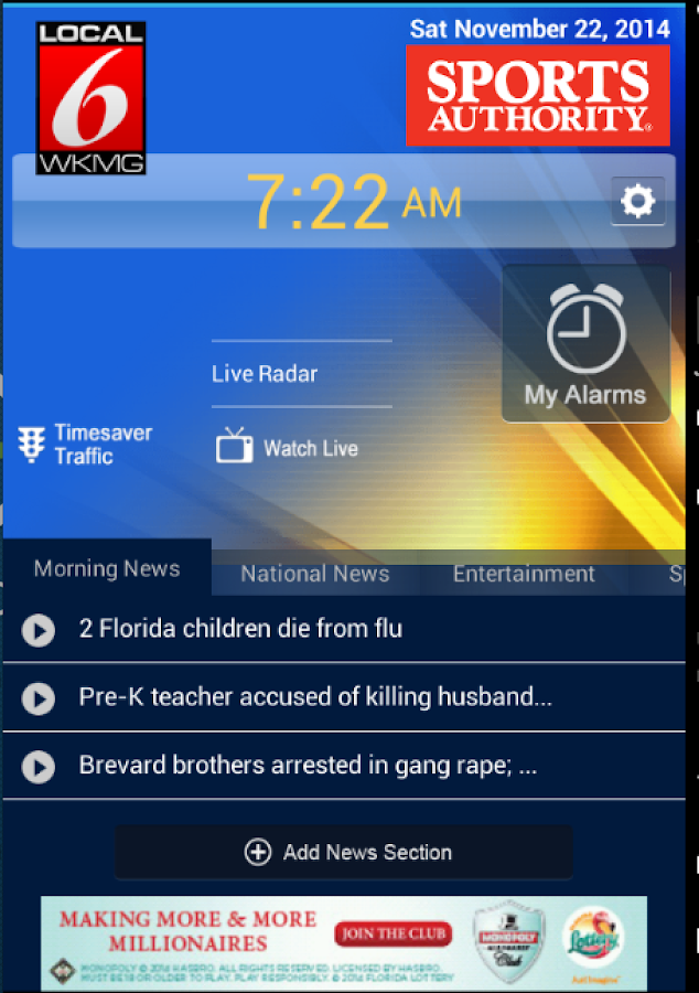 Wake Up with Local 6 WKMG - screenshot