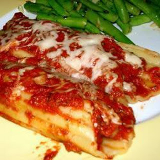 Beef and Cheese Cannelloni Recipe
