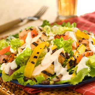 Bbq Ranch Chicken Salad.