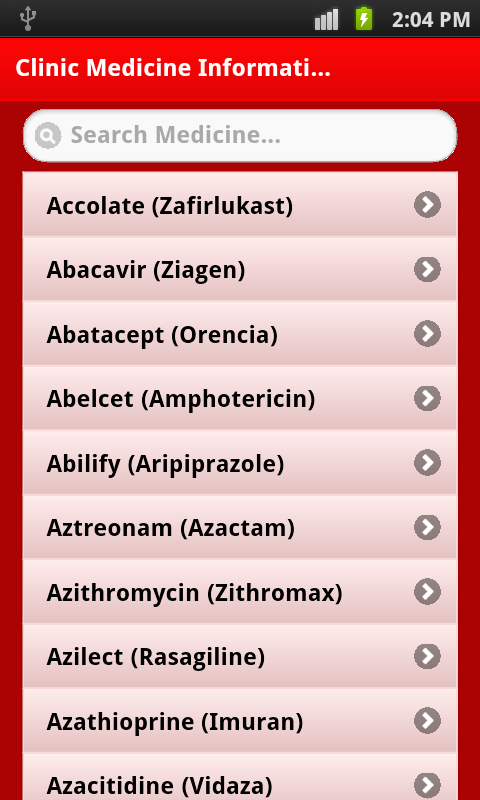 top 2000 Medicine effect & use - screenshot