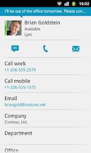Lync 2010 - screenshot thumbnail