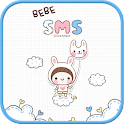 BeBe Rabbit SMS Theme icon