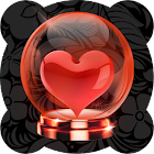 Valentine Globe icon