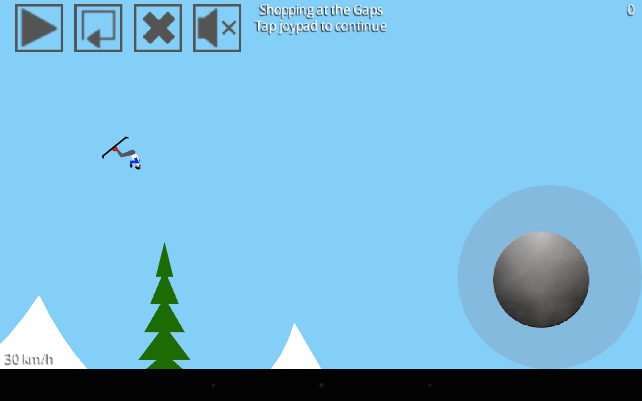 StuntSki Lite- screenshot