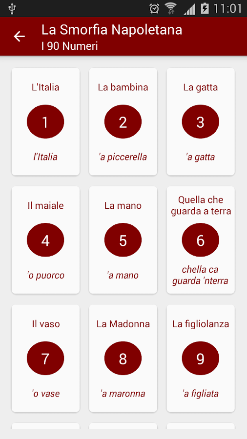 Smorfia Napoletana (Cabala) - Android Apps on Google Play