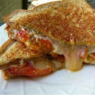 Pesto Grilled Cheese Sandwich.