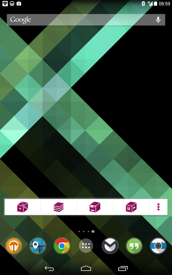 Origami Live Wallpaper - screenshot