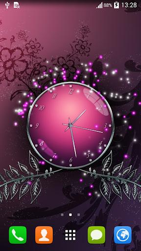 免费粉红色的时钟