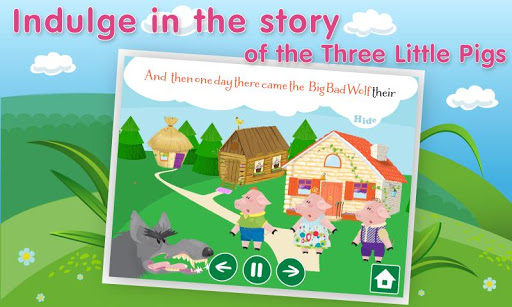 Three Little Pigs Bad Wolf
