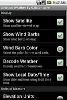 Screenshot of Aviation Weather Trial GADSoft