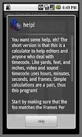 Screenshot of biggs' Movie Calculator